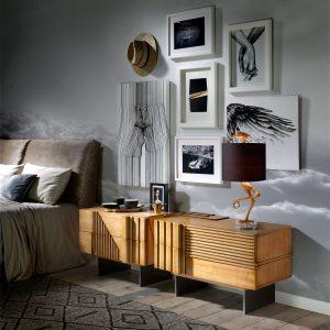 dormitorio con mesitas mytho