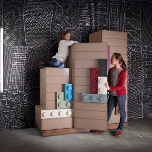armario legos detalle puertas abiertas