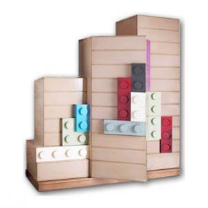 armario legos 3 puertas y 2 cajones