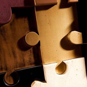 armario puzle detalle de cerca