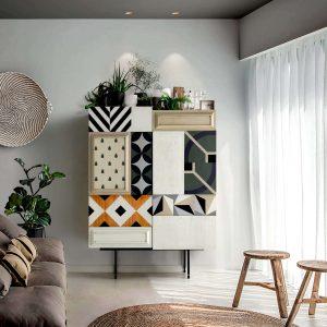 salon con armario serie 2020