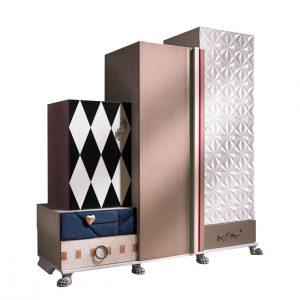 armario tetris 3 puertas y 5 cajones