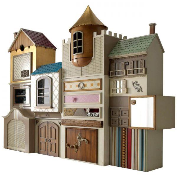 castillo imaginarium 6 cajones y 12 puertas