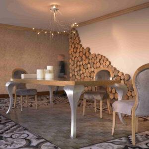 mesa de comedor manila ambiente