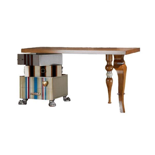 mesa despacho tetris 2 cajones y 1 puerta