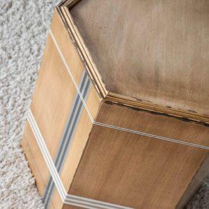 mesita hexagonal 1 detalle desde arriba