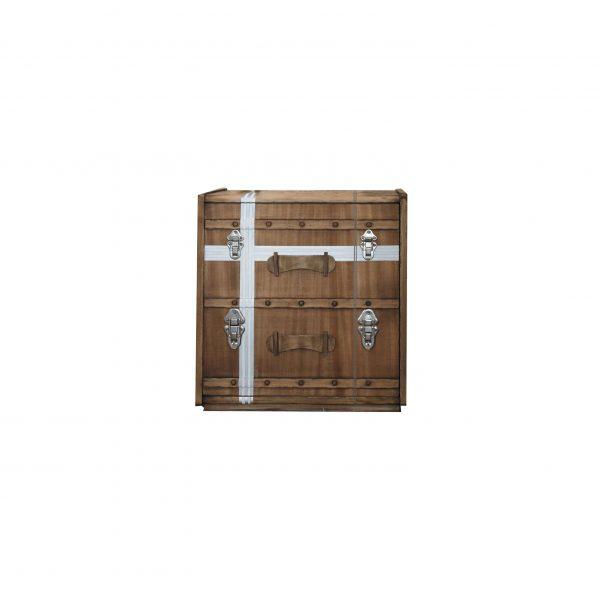 mesita suitcase 1 puerta fondo blanco