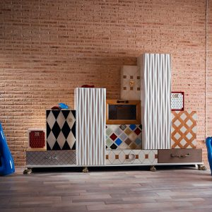 mueble tetris foto de ambiente