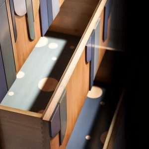 sinfonier marieta detalle interior cajones