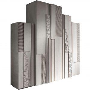 armario nature 5 puertas y 6 cajones