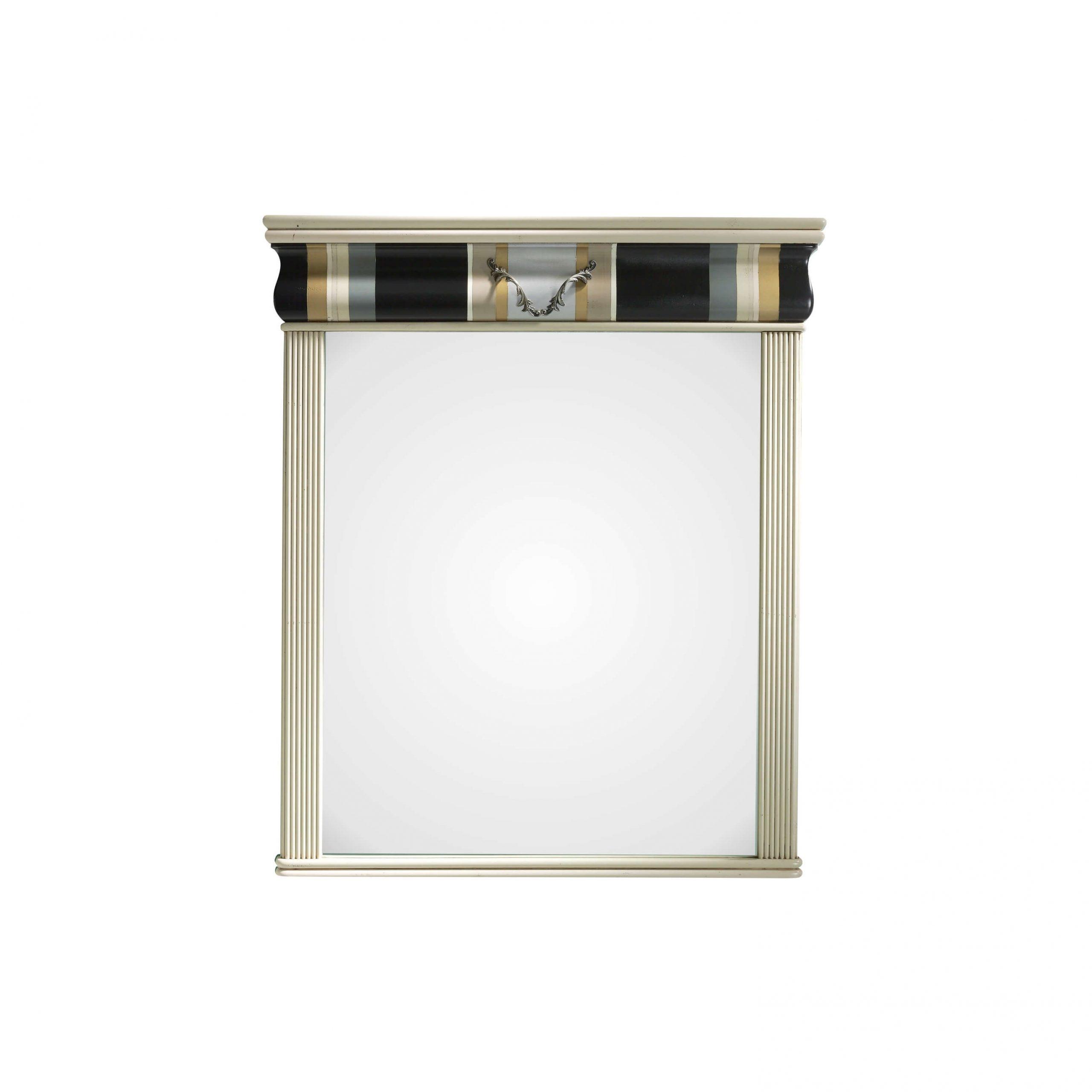 espejo comoda detalle acabado en perla, plata, cafe, oro, gris dorado y negro