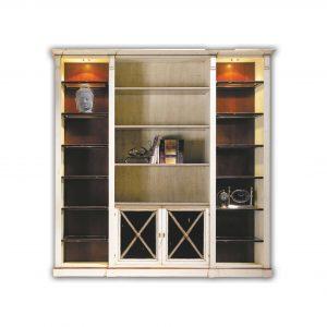 librero modular 2 puertas