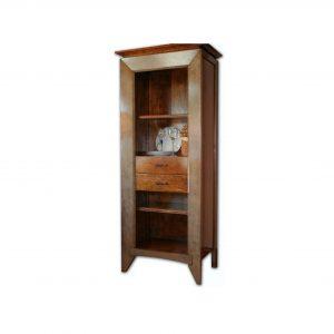 librero ada 1 puerta y 2 cajones interiores