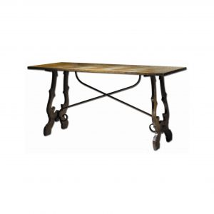 mesa damada fondo blanco