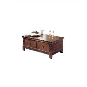 mesa de centro la masia 2 cajones