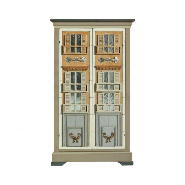 sinfonier toscano detalle 2 puertas con 2 cajones interiores