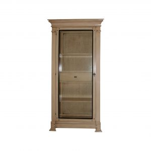 vitrina san juan 1 puerta con cajon interior