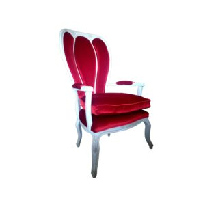 sillon queen con fondo blanco