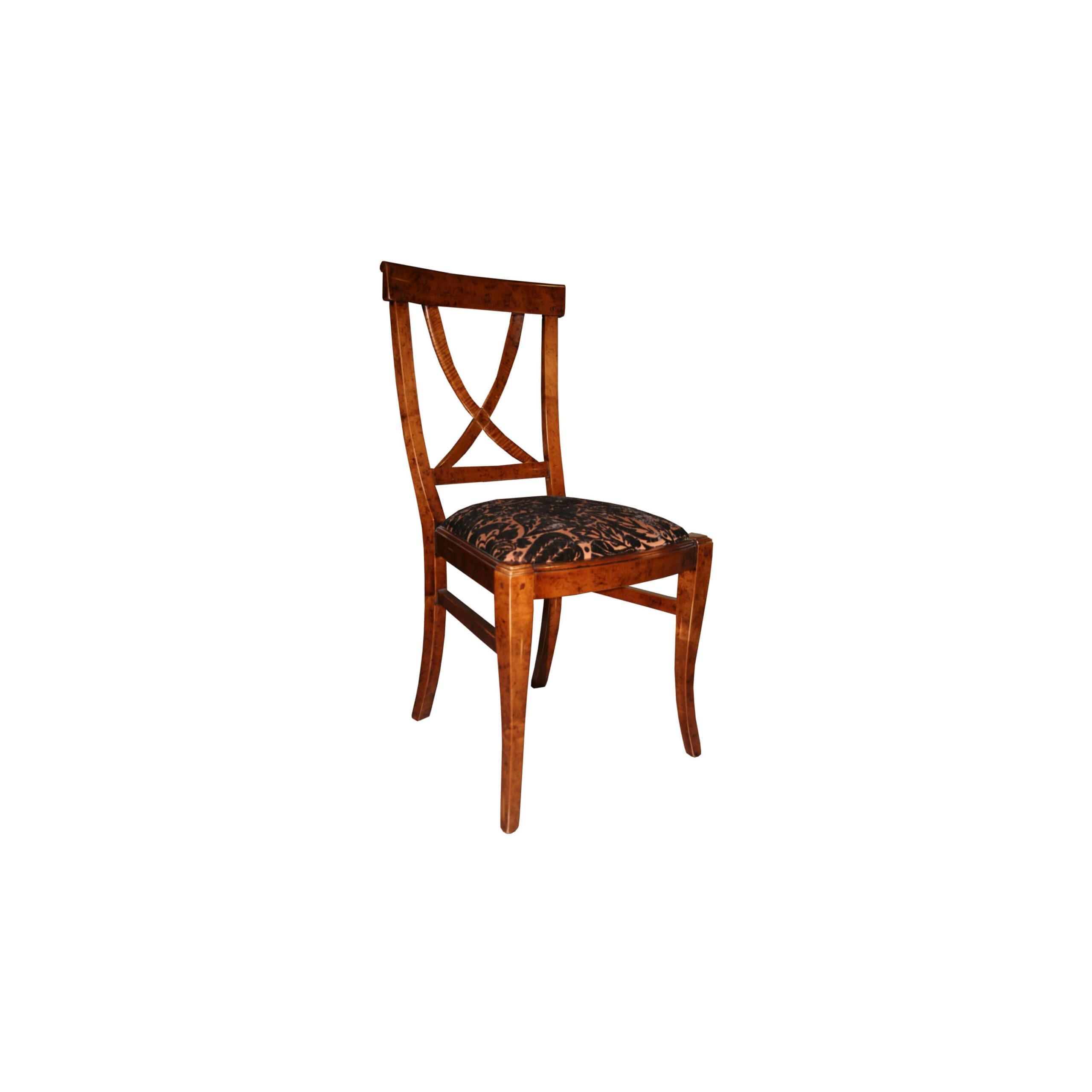 silla diva otro tapizado en fondo blanco