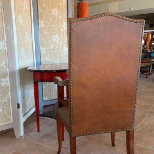 sillon almazan detalle tapizado trasera