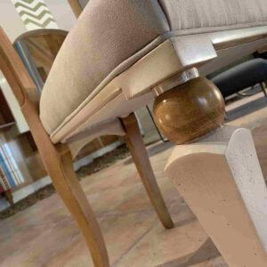 silla san juan detalle tapizado