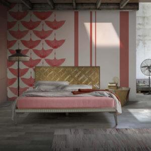 cabecero minimal ambiente dormitorio