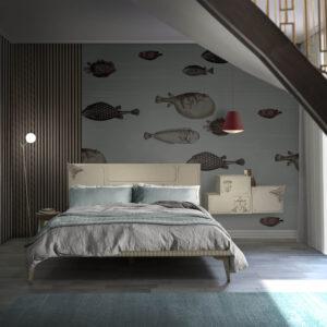 cabecero y mesilla utopia ambiente dormitorio