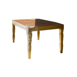 mesa de comedor cubista fondo blanco