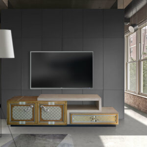 mueble de tv one ambiente salon