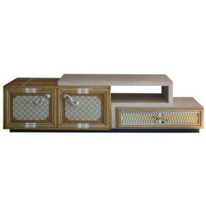 mueble de tv one 2 puertas y 1 cajón